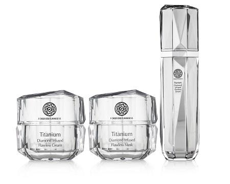 Forever Flawless – Diamond Infused Skincare
