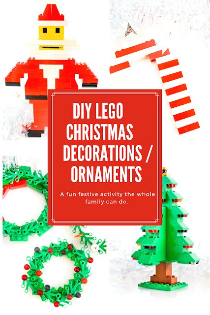 DIY Lego Christmas Decorations / Ornaments