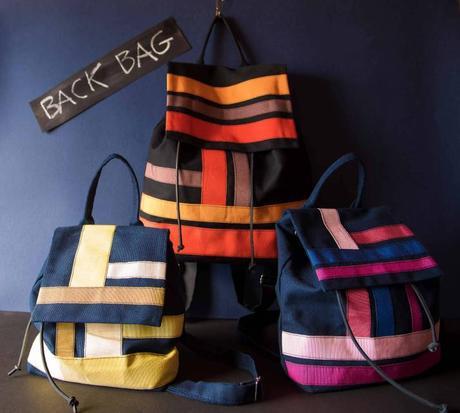 Best backpack for you – Laurette Vistosi handmade backpack