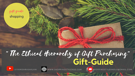Shopping, Style and Us: India's Best Shopping and Self Help Blog - #GiftGuide | 7 Steps to Sustainable Giving