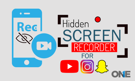 record youtube, instagram & SnapChat Screen