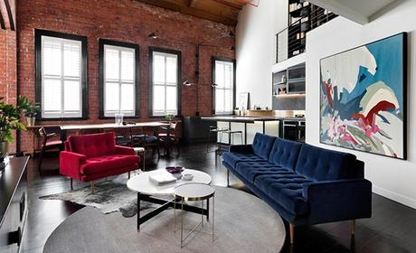 Industrial Sophistication in an Australian Apartment