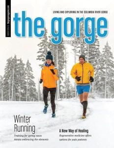 The Gorge Magazine Winter issue includes L.M. Archer's coverage of Columbia Gorge sparkling wine.
