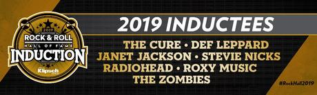 2019 Rock & Roll Hall Of Fame Class Announced