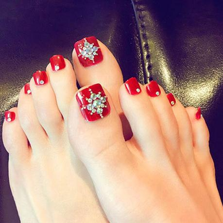 20 easy to do toe nail art design ideas for 2019  paperblog
