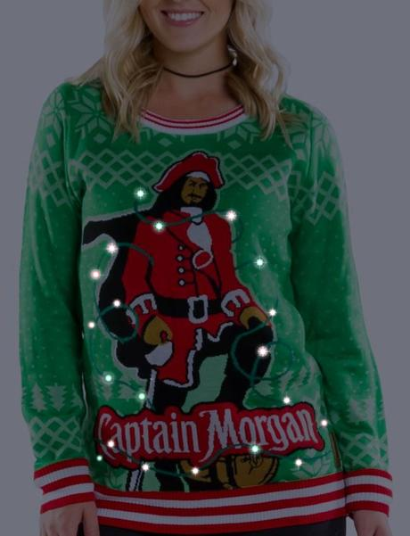 Captain Morgan and Tipsy Elves Launch Perfect Holiday Party Fashion