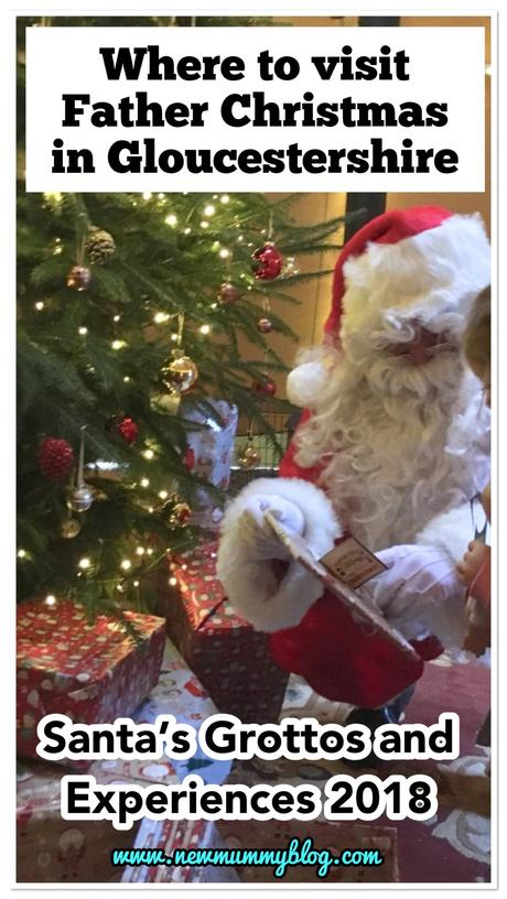 Where to visit Father Christmas in Gloucestershire 2018 | 20+ Santa's Grottos