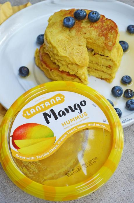Gluten Free Mango Honey Pancakes
