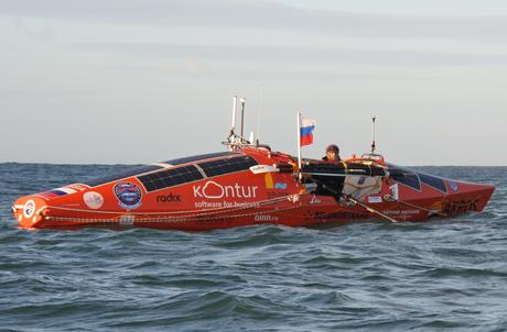 Fedor Konyukhov has Begun His Attempt to Row Around the Southern Hemisphere