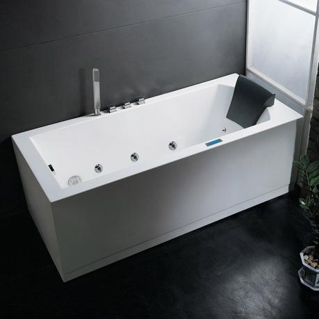 bathtub buying guide modern whirlpool bathtub white