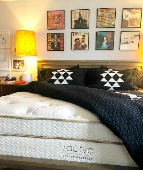 Saatva Mattress Review and Bedroom Reveal