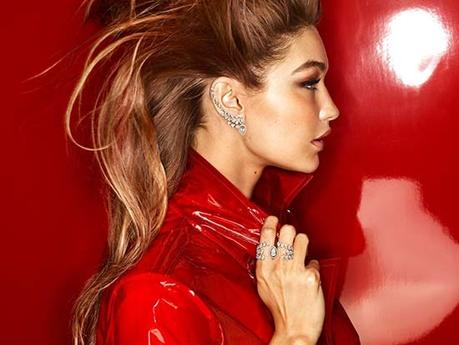 Gigi Hadid Is Red Hot In Messika Holiday Jewelry Campaign