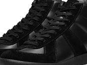 Black: Maison Margiela Replica High Tonal Sneaker