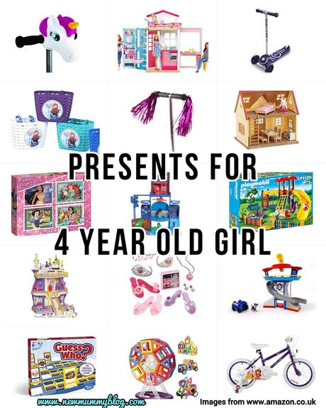 Presents for 4 year old girl – Last minute presents for preschoolers – from Amazon & supermarkets!