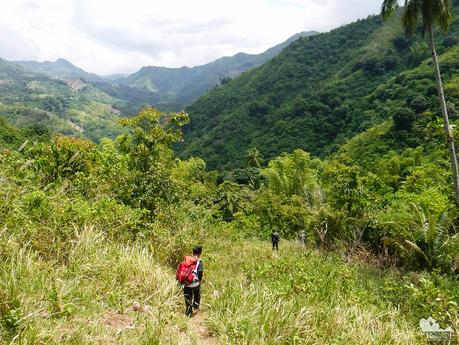Mountains and valleys of Danao