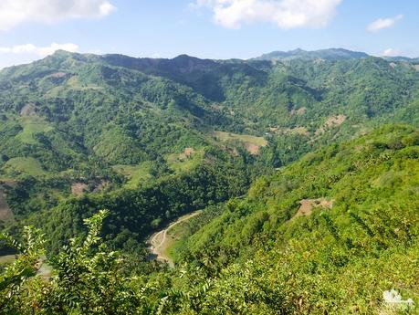 Lusaran River below us