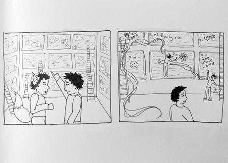 Happy holidays comic: Plural selves