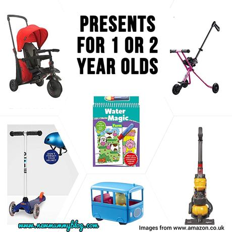 Presents for 1 or 2 year olds – last minute gifts