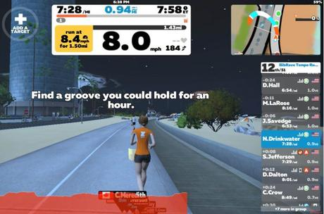 Virtual Running With Zwift – Review