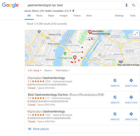 Gastroenterologist in NYC