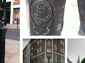 Brushfield Street, Spitalfields. Large Lamp Post Pastiche Pub.
