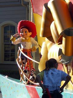 Jessie's Empty Nest in Toy Story 2