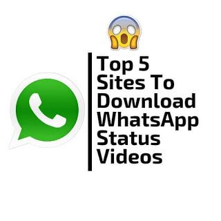 top 5 sites to download whatsapp status videos