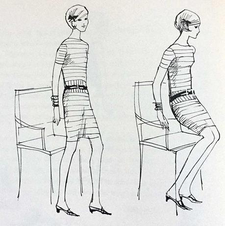 The Art of Sitting in a Feminine Posture