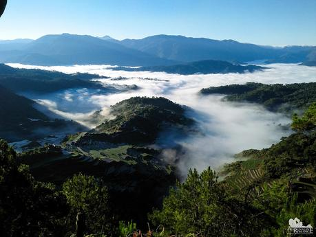 Sea of clouds over Maligcong