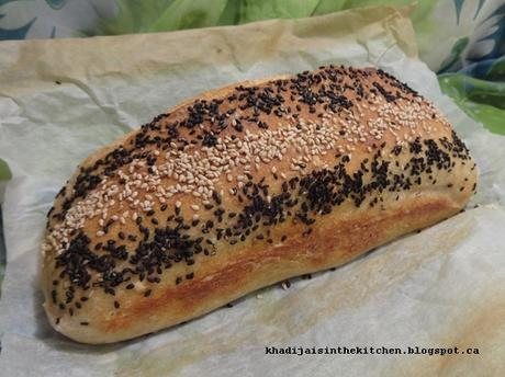 PAIN AU SON DE BLÉ / WHEAT BRAN BREAD / PAN CON SALVADO DE TRIGO / خبز بالنخالة