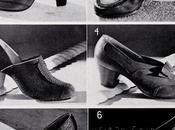 Vintage 1940's Women's Shoes Then
