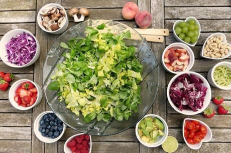 salad plant-based diet