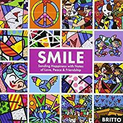 Image: Smile: Sharing Happiness With Notes of Love, Peace, and Friendship, by Romero Britto (Author), Blue Star Press (Producer). Publisher: Blue Star Press (April 26, 2018)