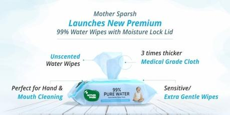 Mother Sparsh launches the best of all sensitive wipes for babies!