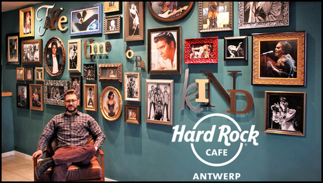 Special post: Leandro Targon @ Hardrock Cafe Antwerp.