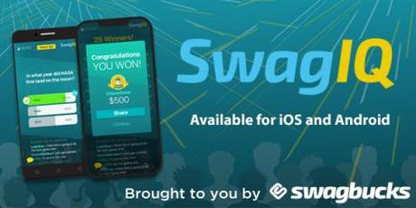 Image: SwagIQ is a live trivia game show where you test your knowledge to win cash prizes