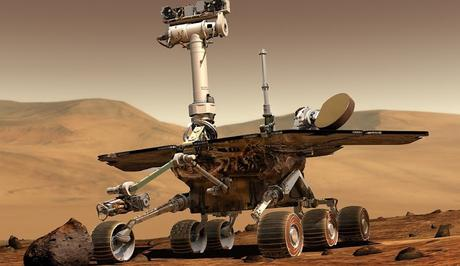 Image: Mars Rover on Mars, by WikiImages on Pixabay