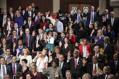 Record Number Of Women (Mostly Democrats) In House