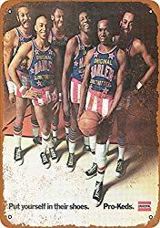 Image: 1972 Harlem Globetrotters for Pro-Keds - Vintage Look Reproduction