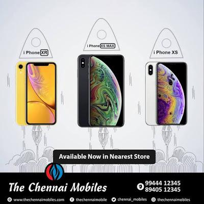 BUY LATEST APPLE PHONES AT THE BEST ONLINE STORE IN CHENNAI