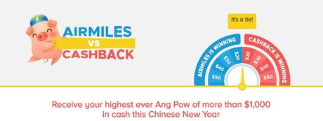 Cashback vs Airmiles, Which Is Better? - Deal of the year 2019