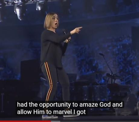 Looking at Christine Caine's speech at Passion 2019