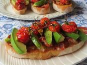 Tomato, Avocado Pancetta Toast