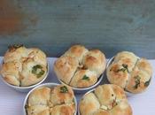 Coriander Garlic Four Clover Bread#BreadBakers