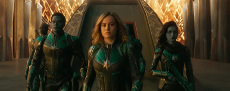 "Marvel Studios Releases Special Look ""Captain Marvel"" Video"
