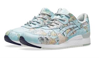 See The World!:  Asics X Atmos Gel-Lyte III World Map Sneaker