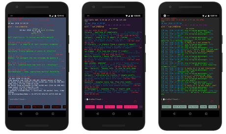 linux cli launcher for android