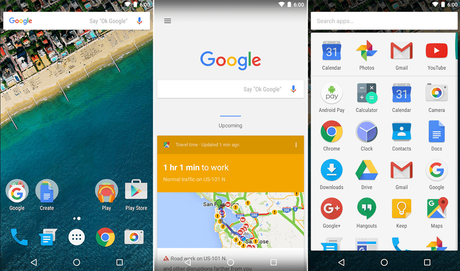 google now launcher for android