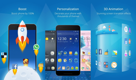 cm launcher 3d for android