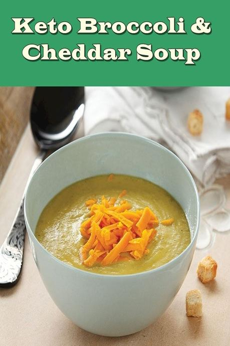 Low Carb Broccoli And Cheddar Soup